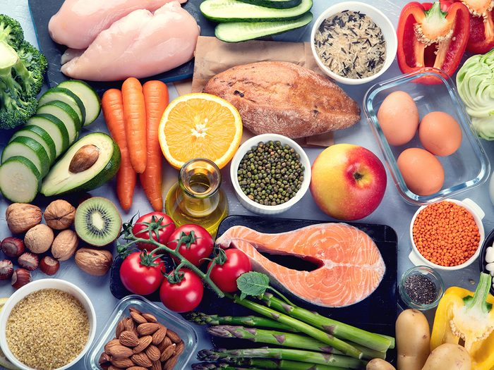 reasons you're hydrated - balanced diet