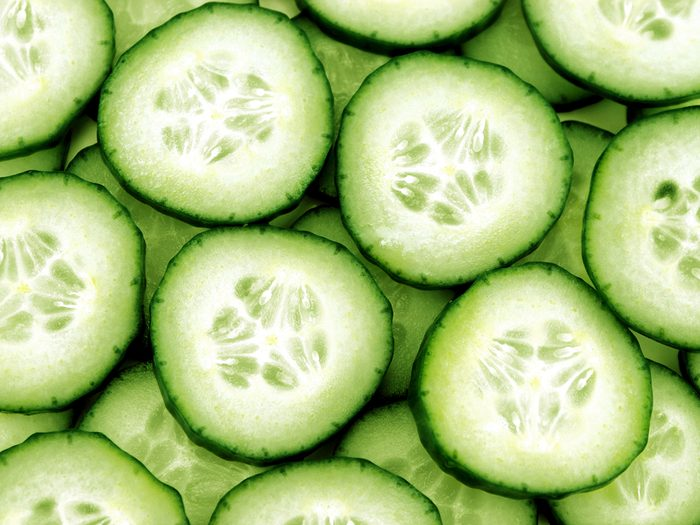 Ways To Sooth Sunburn Cucumbers