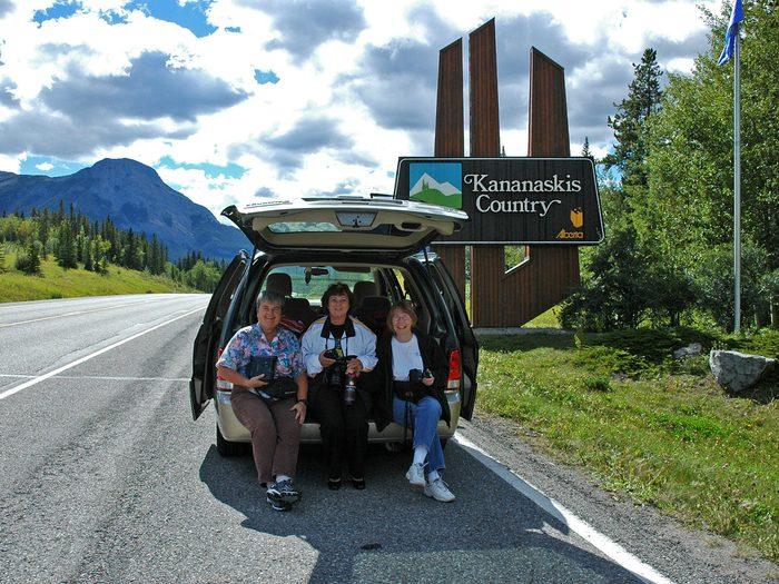 Road trip among friends