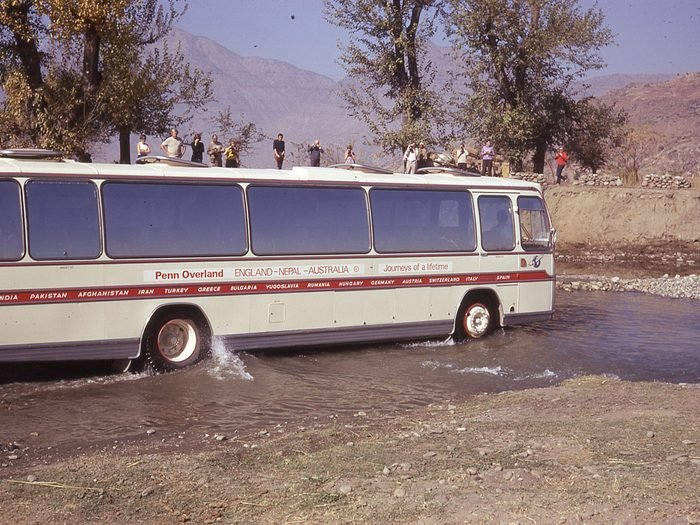 Travelling in South Africa during the 1970s