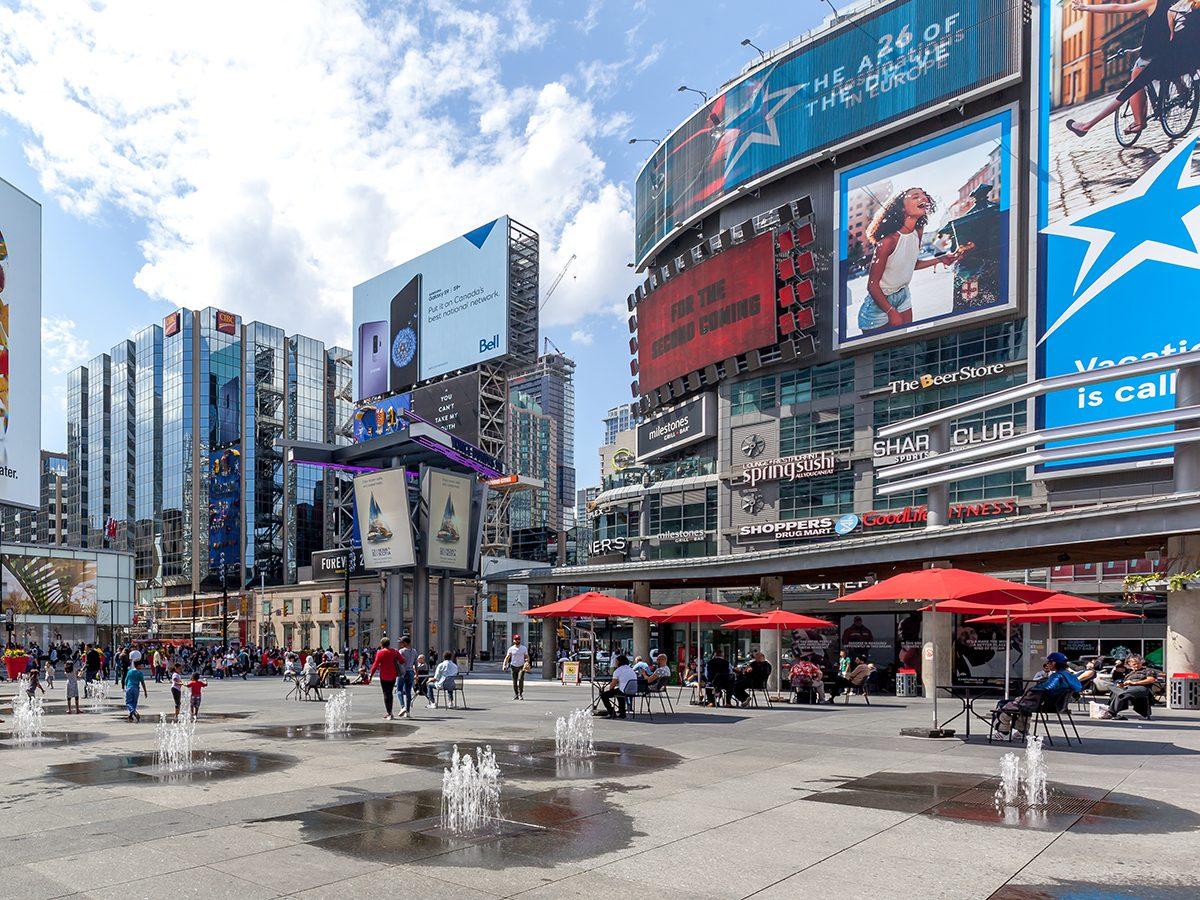 Yonge Dundas Square in Toronto