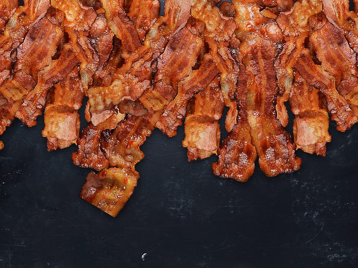 Bacon tips - don't cook too much bacon