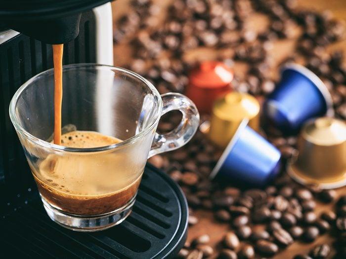 Healthy coffee - pod coffee machine