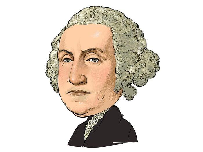 History jokes - George Washington cartoon