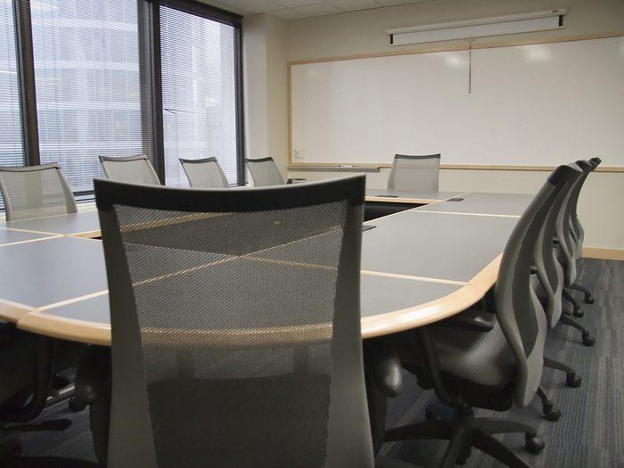 History jokes - office meeting room