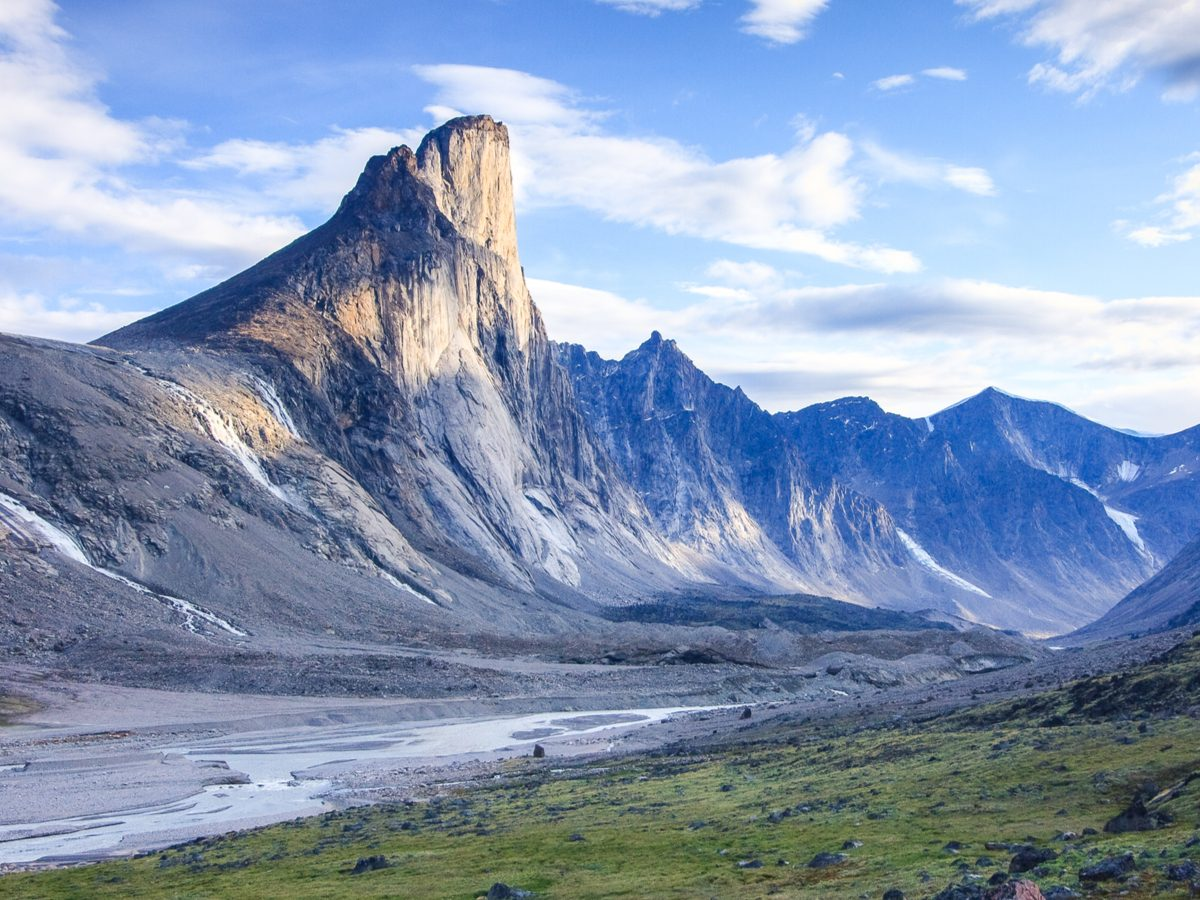 Canadian geography - Mount Thor, Nunavut
