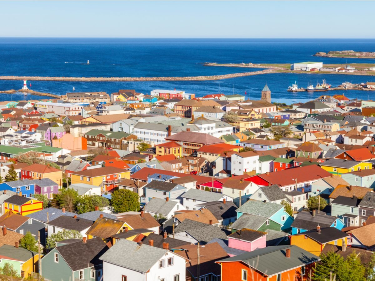 Canadian geography - Saint Pierre and Miquelon