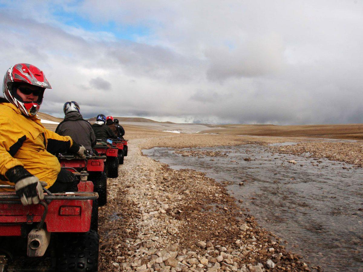 Haughton Crater in Nunavut