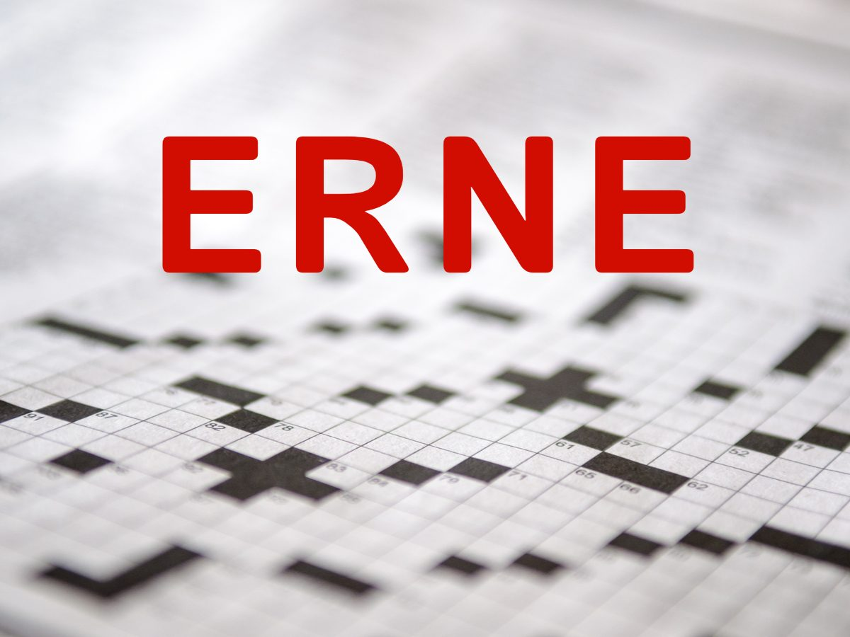 Crossword puzzle words - Erne