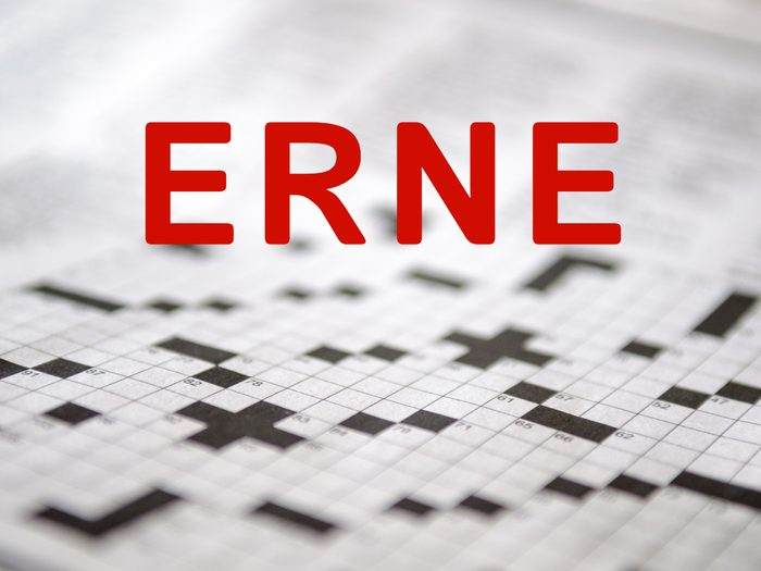 Crossword puzzle words - Erne