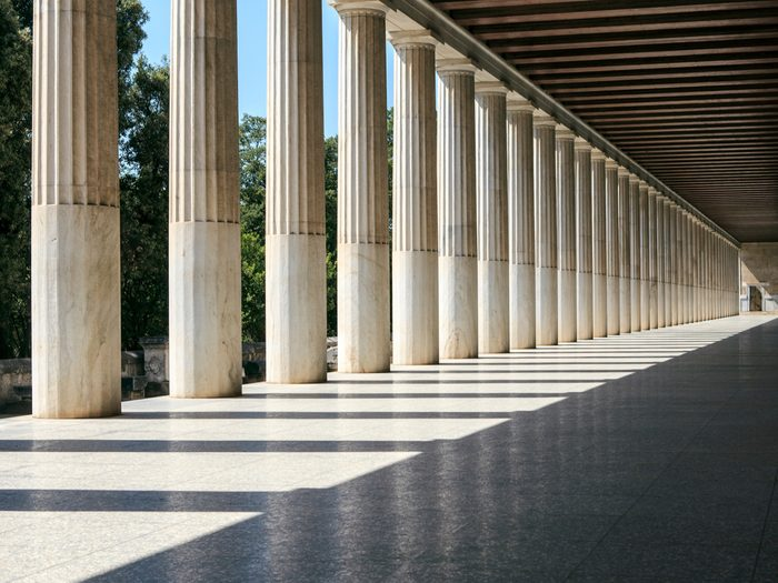 Ancient attractions in Athens, Greece