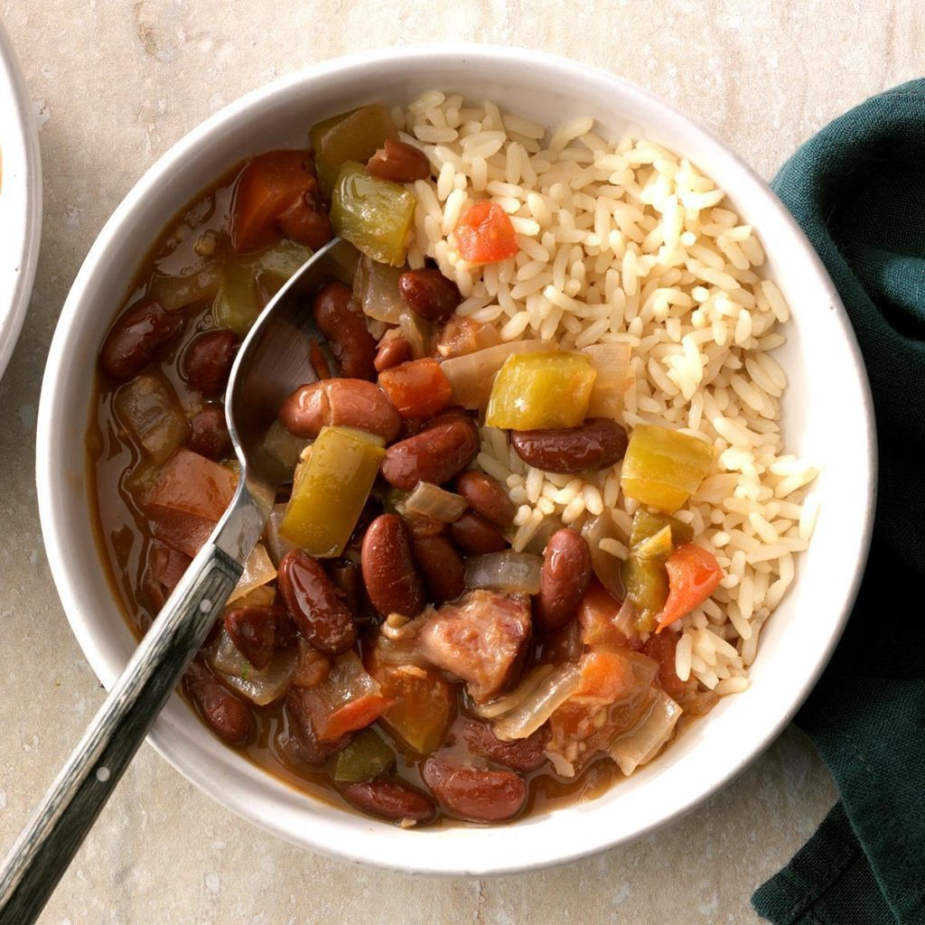 All-day red beans and rice recipe