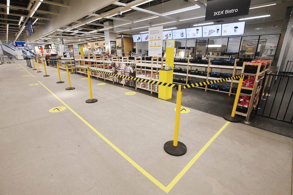 Ikea Canada - coronavirus - bistro
