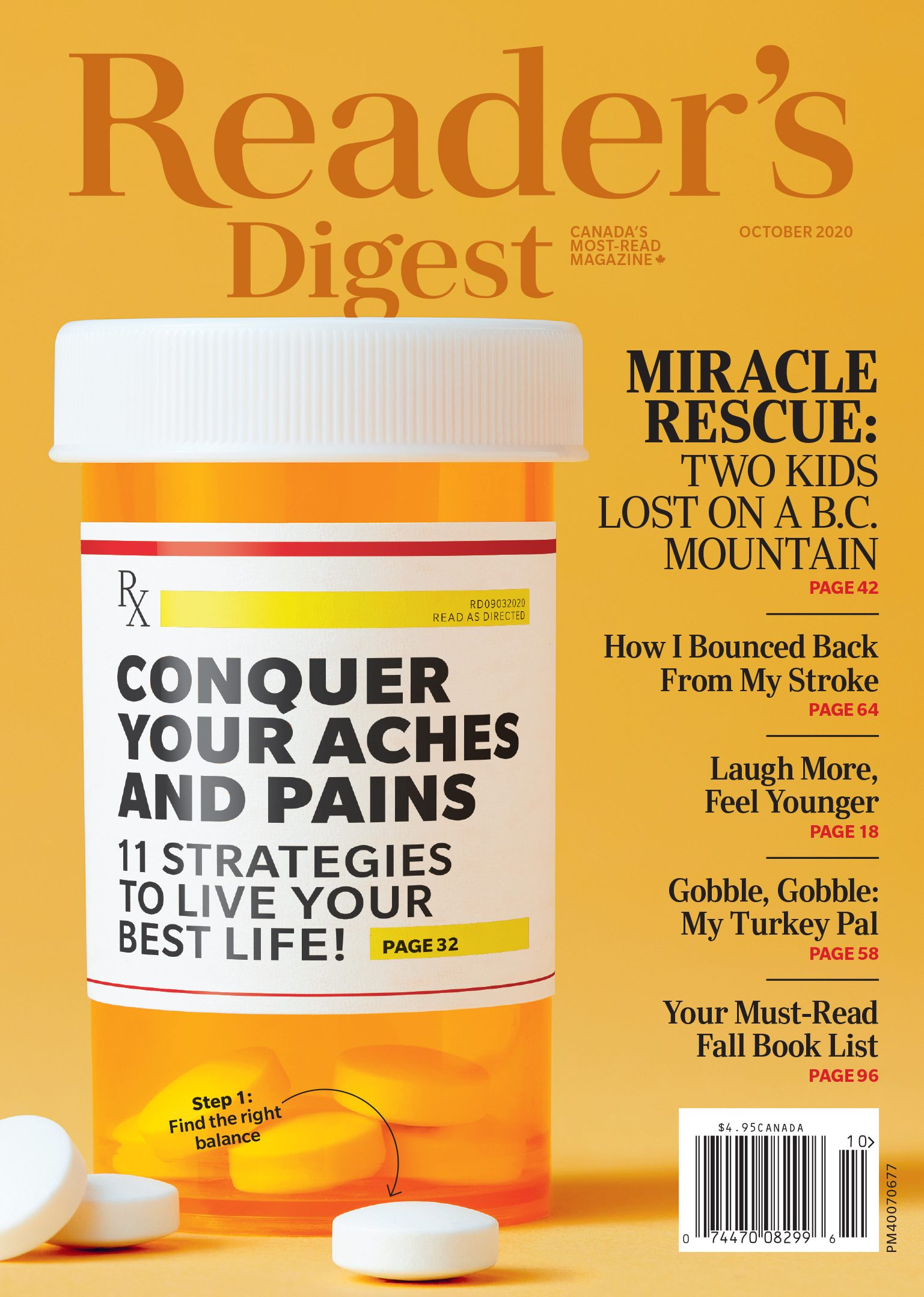 Reader's Digest Canada - October 2020 issue