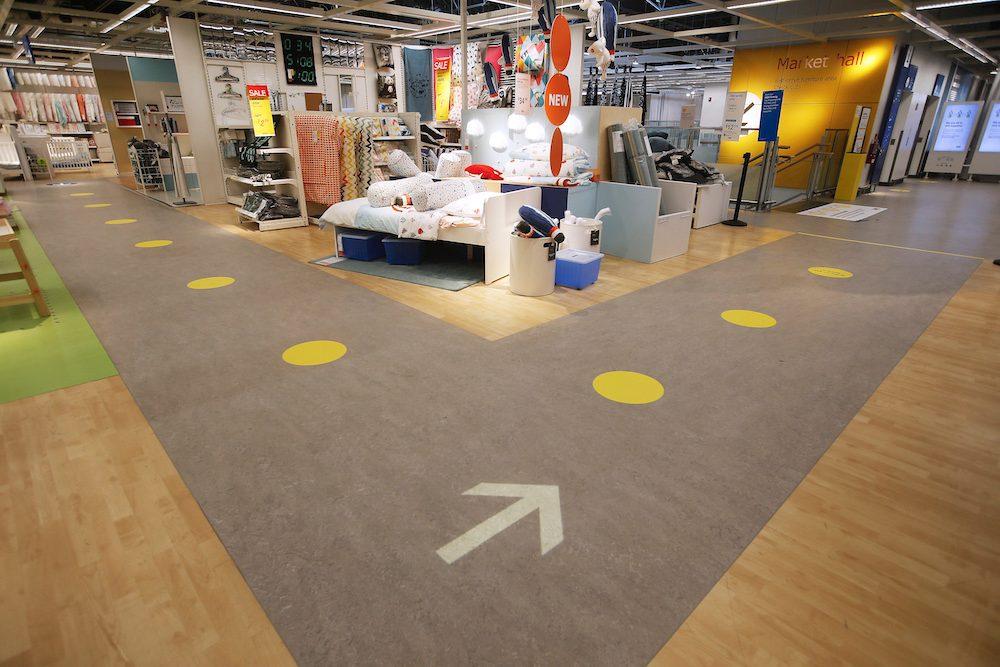 Ikea Canada - coronavirus social distancing