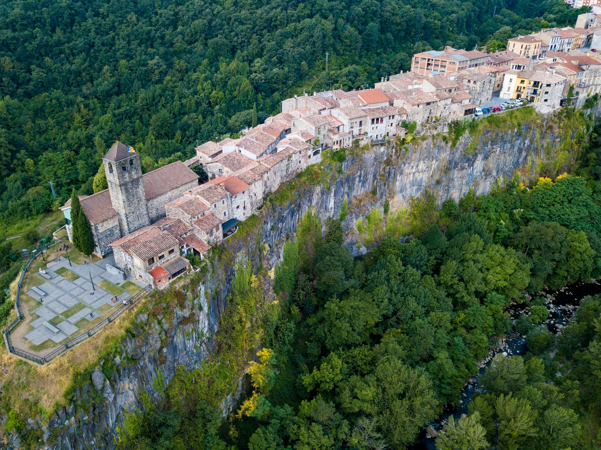 Village in Catalonia Spain