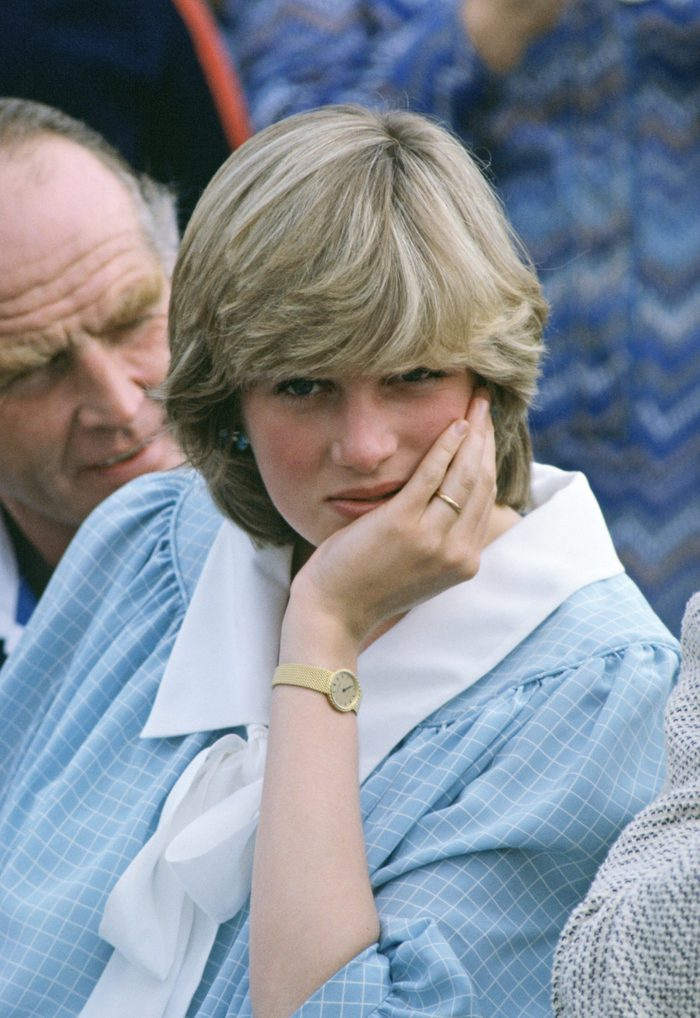 Princess Diana body language - Diana Pregnant With First Baby