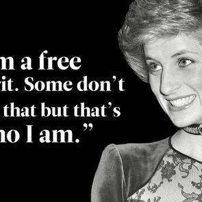 Princess Diana quotes - I am a free spirit