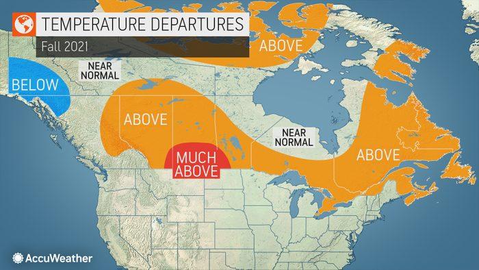 Fall 2021 Forecast Across Canada