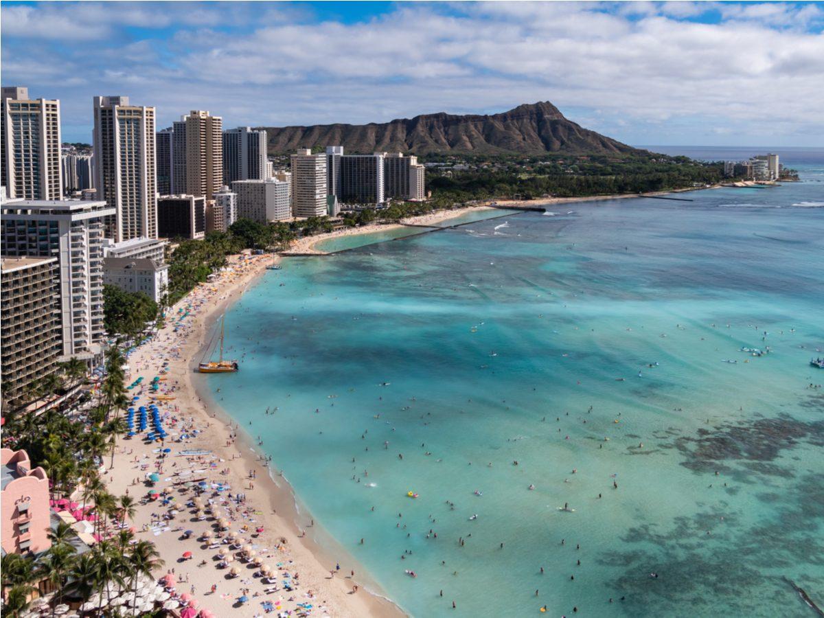 Hawaii beachfront