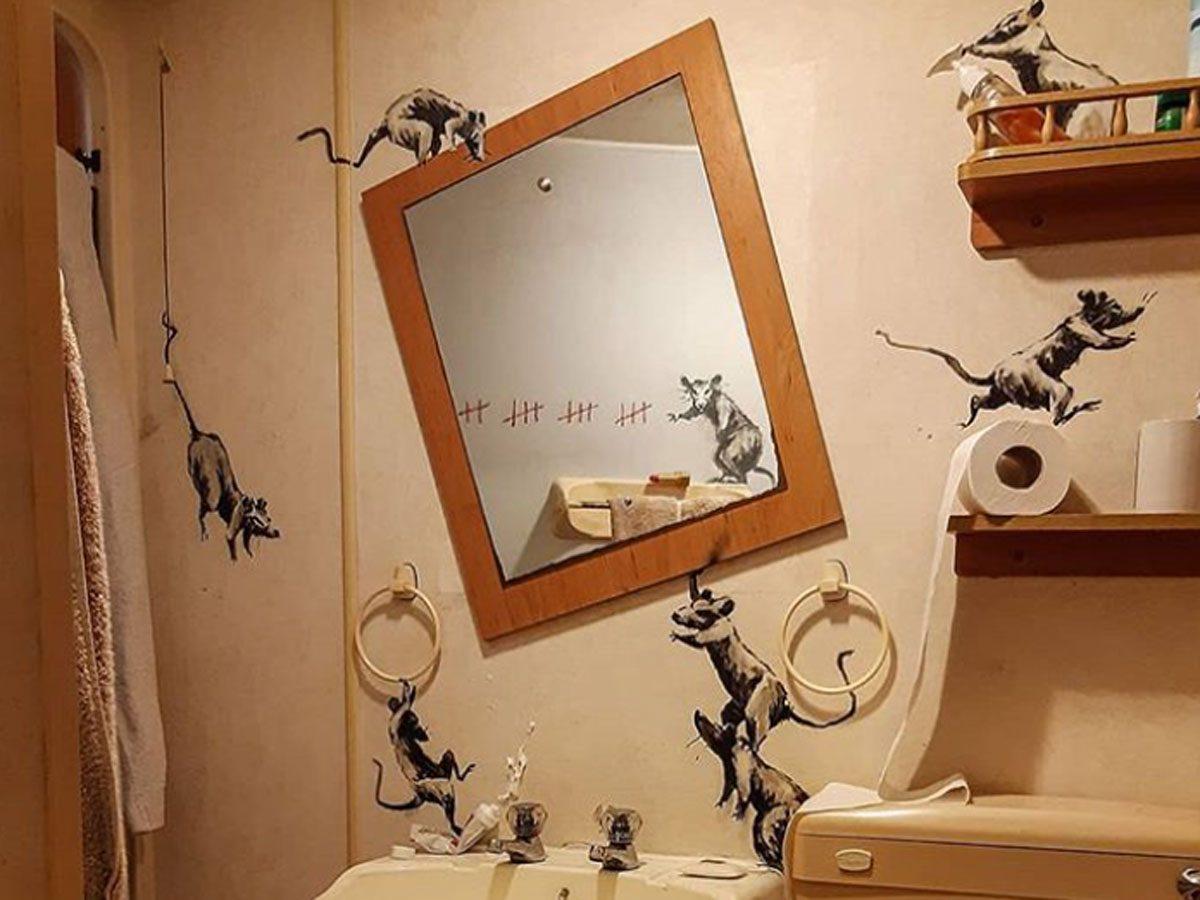Installation by Banksy