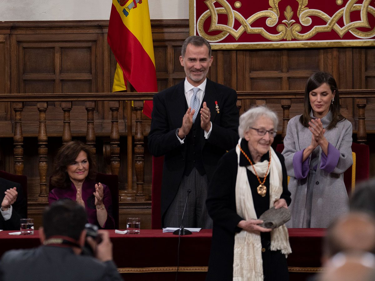 Cervantes Prize ceremony in Spain