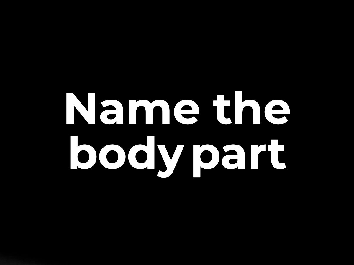 Name the body part