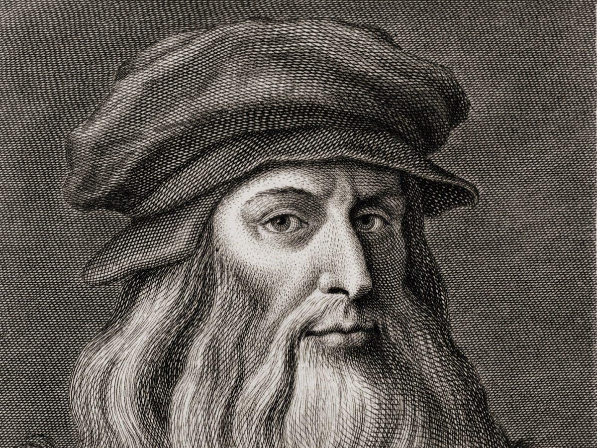 Illustration of Leonardo da Vinci