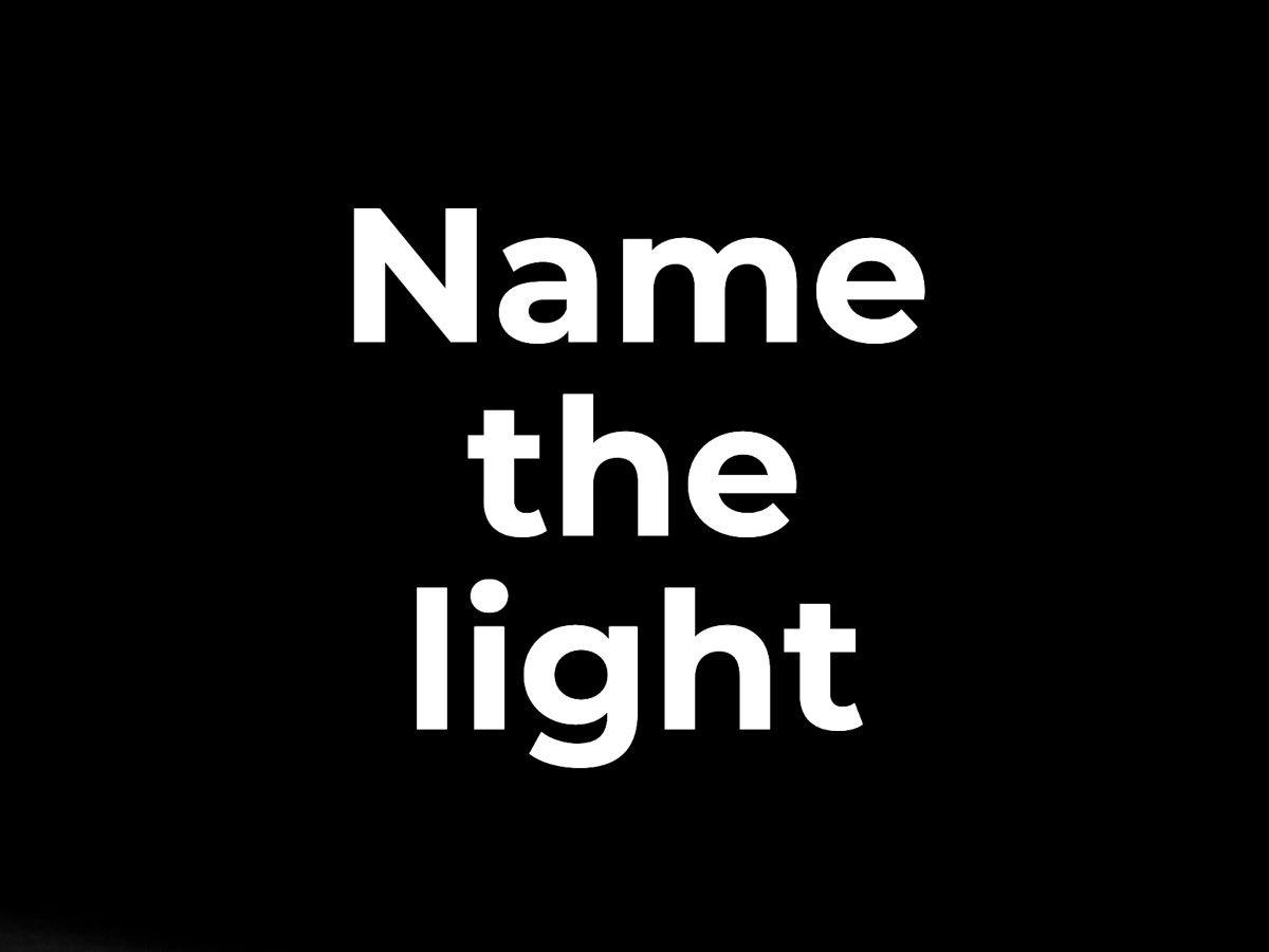 Name the light