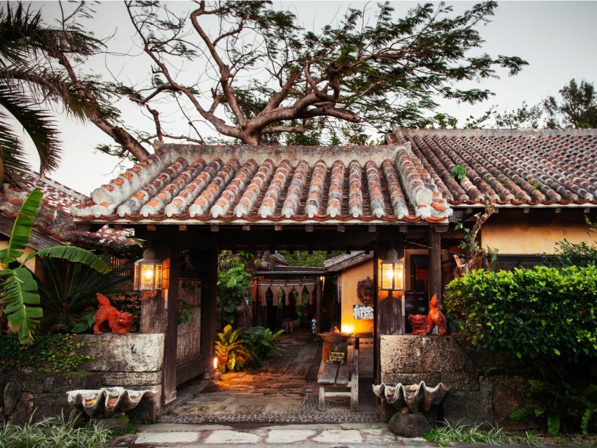 House in Okinawa, Japan