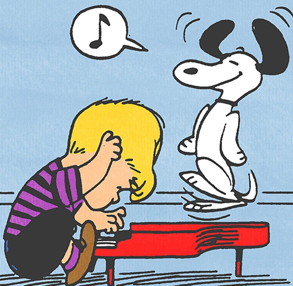 Schroeder from Peanuts cartoon