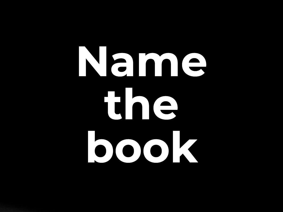Name the book
