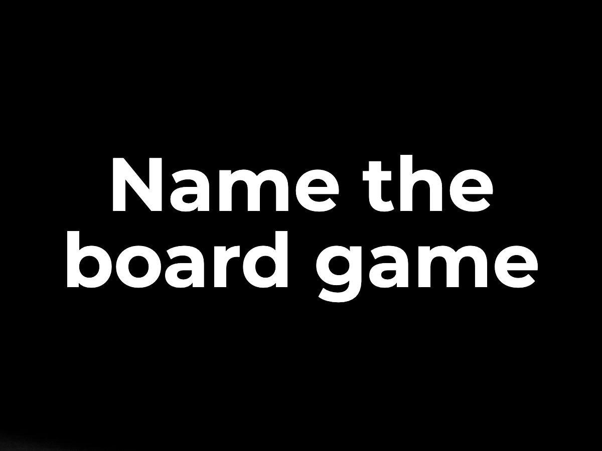 Name the board game