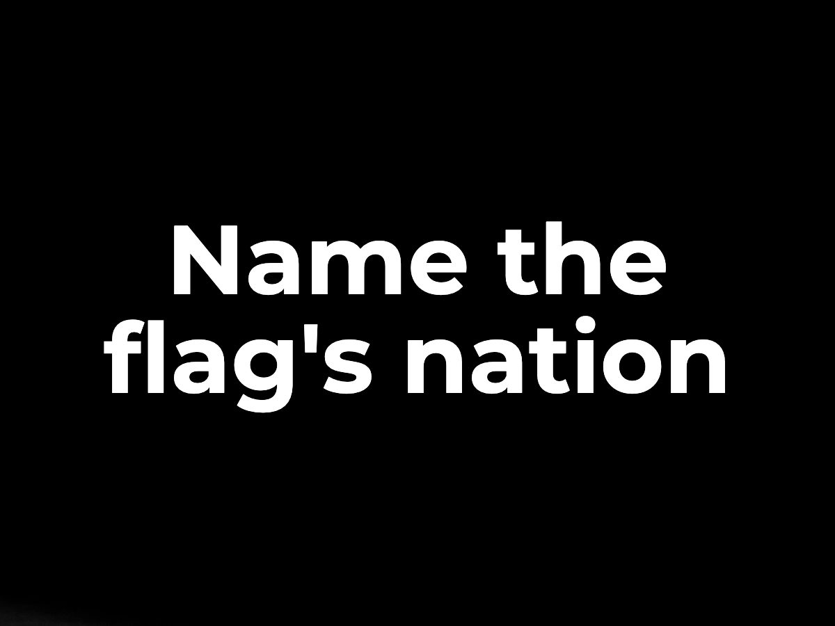 Name the flag's nation