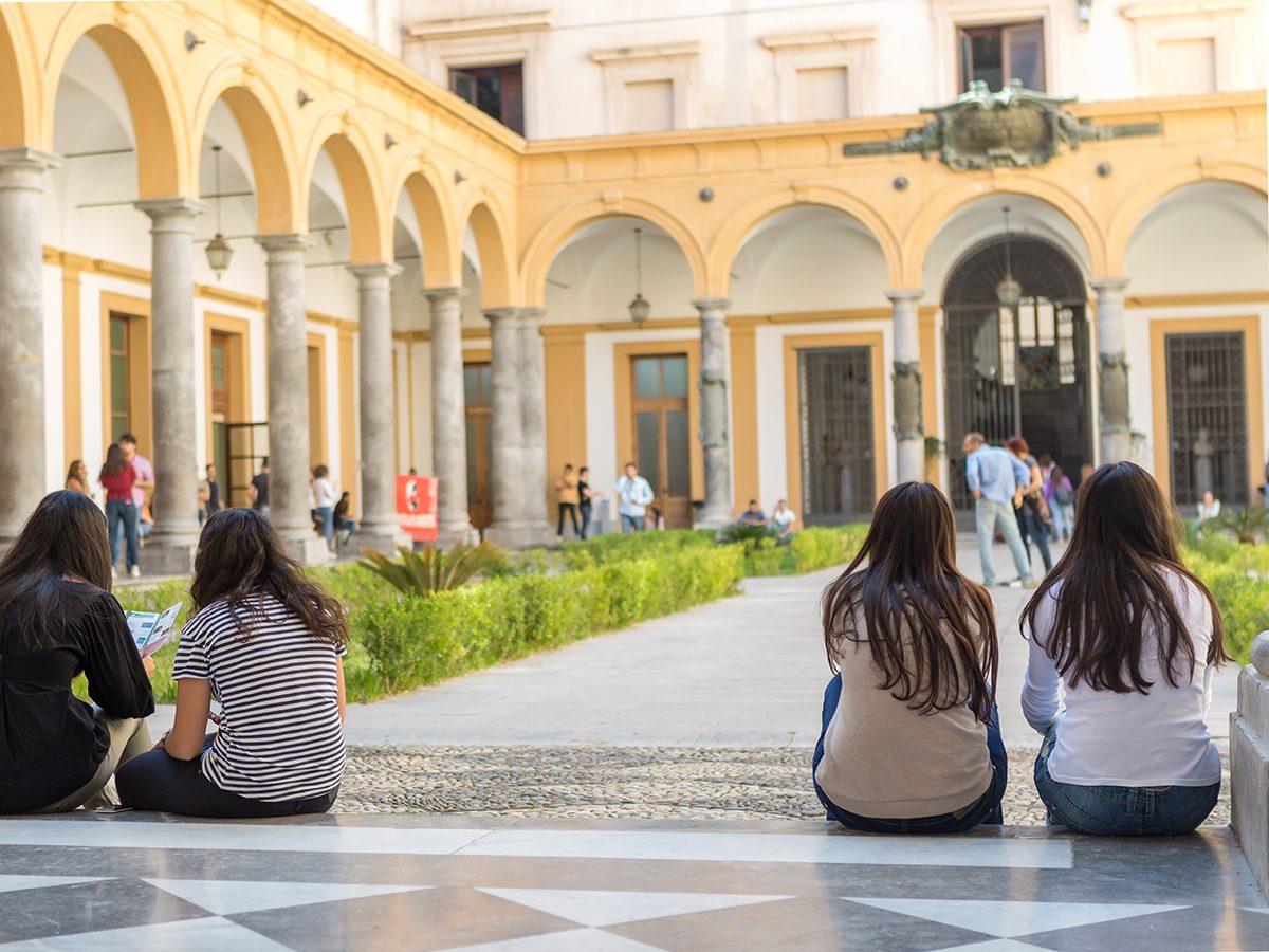 Good news - students at University of Palermo, Sicily