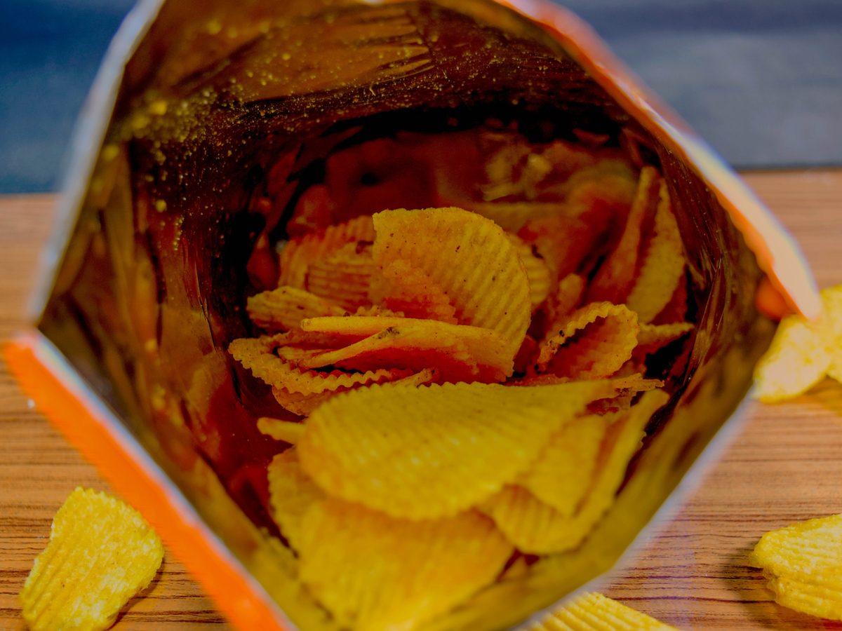 Potato chip snack