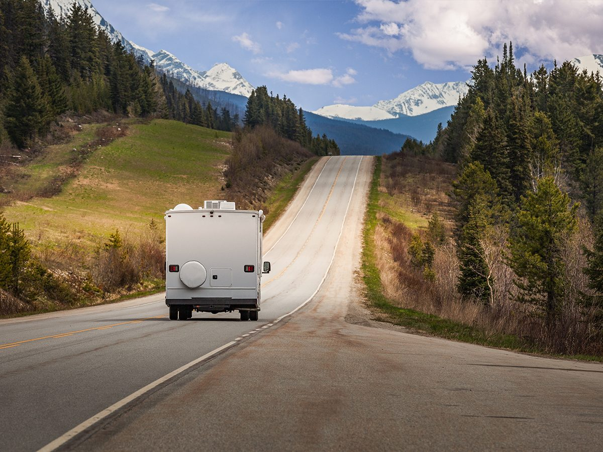 RV trip planner - RV road trip through the Canadian Rockies