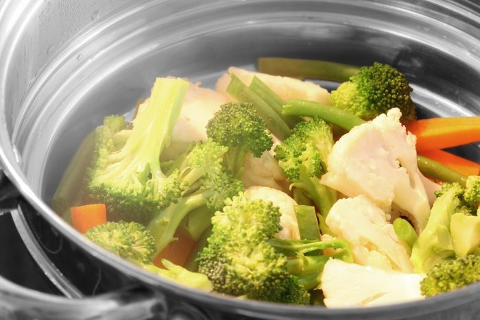 Ways to cook everything faster - Steaming vegetables