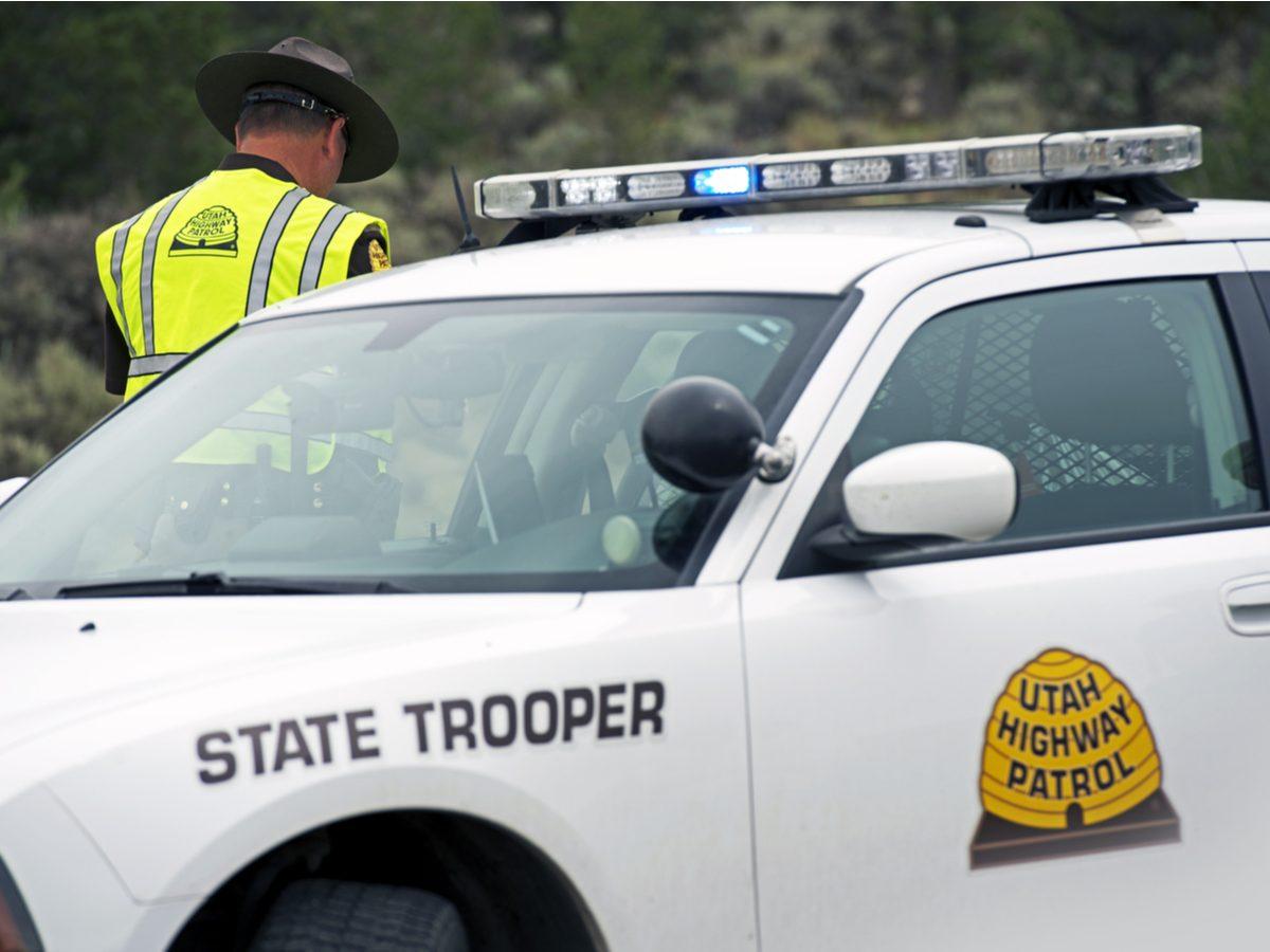 Utah State Trooper