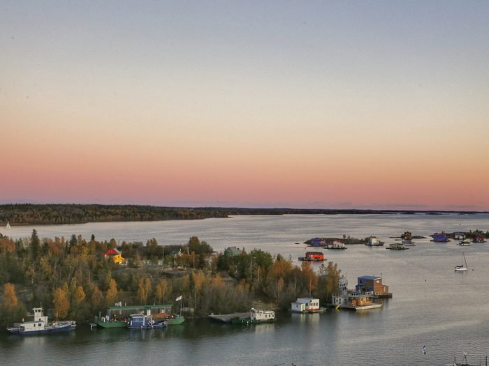 Worst mosquitoes in Canada - Gloaming in Yellowknife