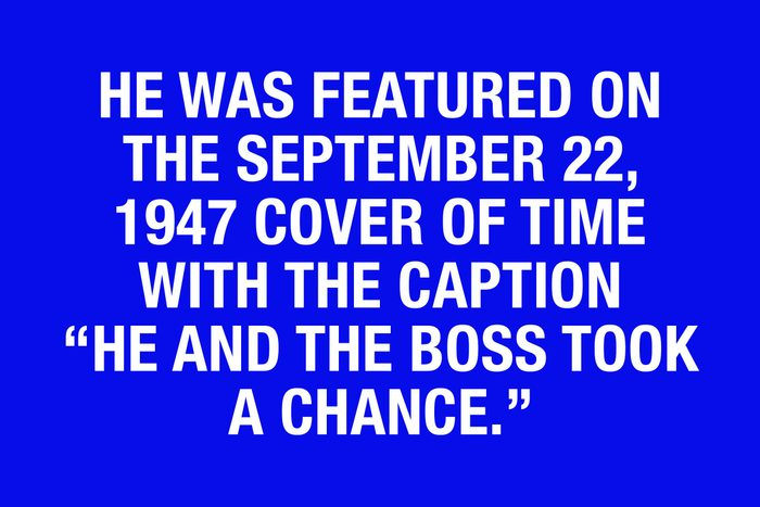 Final Jeopardy questions - clue 6