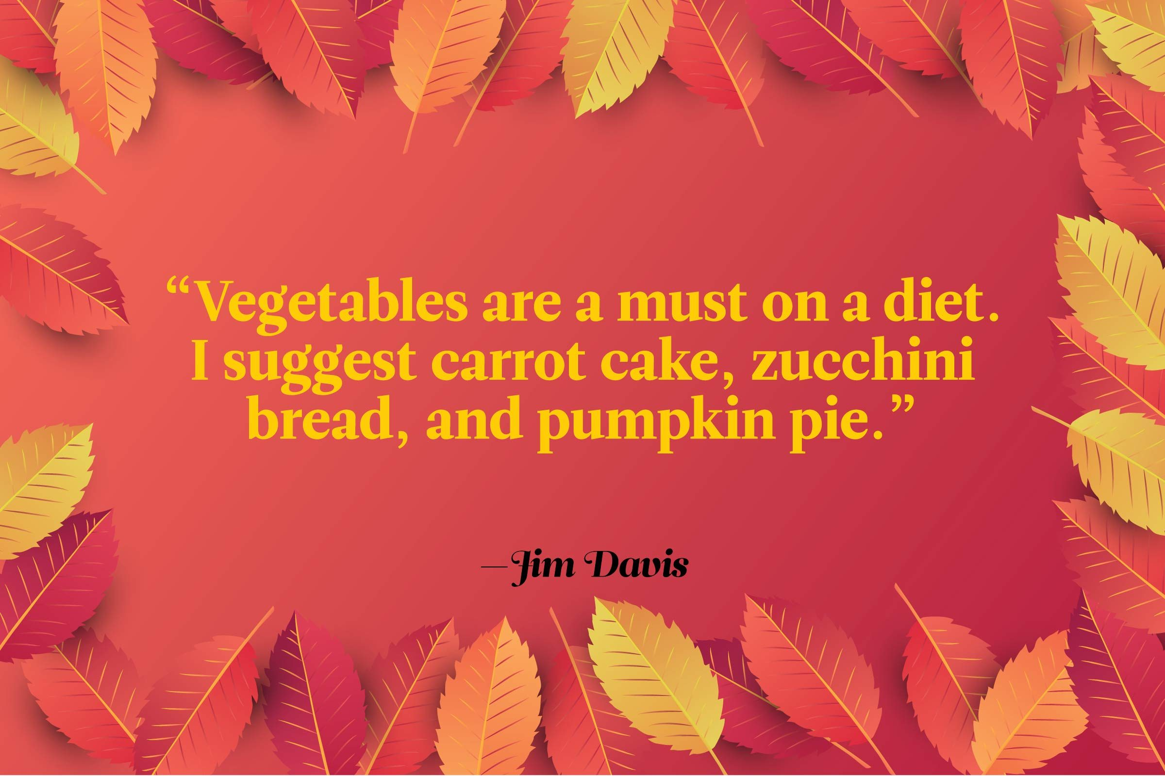 Funny Thanksgiving Quotes - Jim Davis