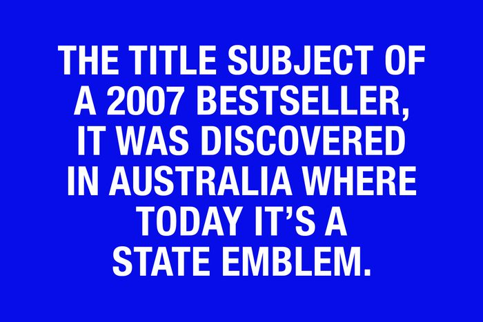 Final Jeopardy questions - clue 13