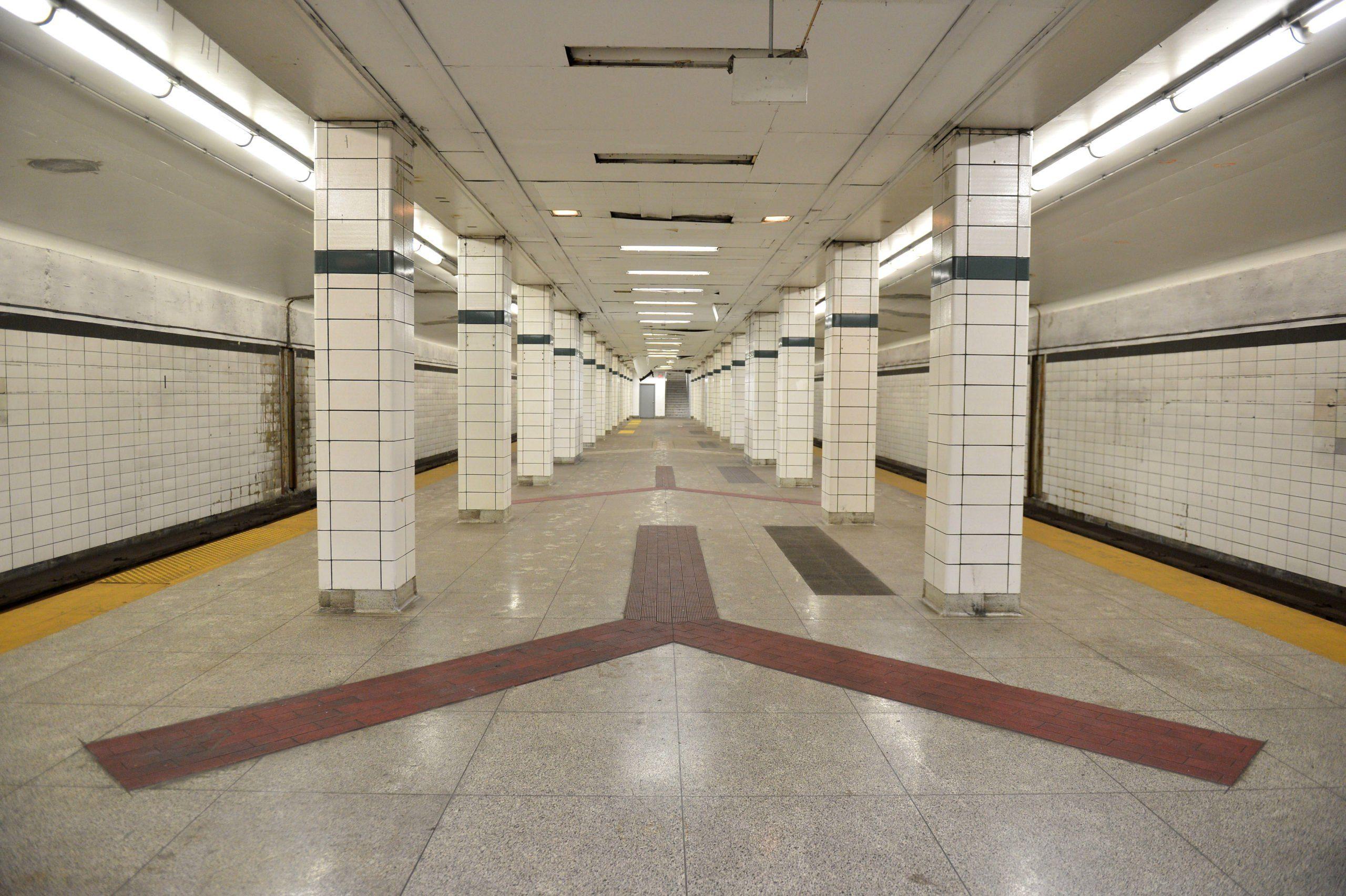 TTC Bay Lower Subway Station