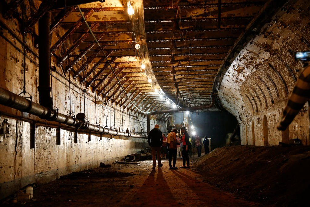 Tour Of Abandoned Subway Tunnel Offers Glimpse At Boston's Past