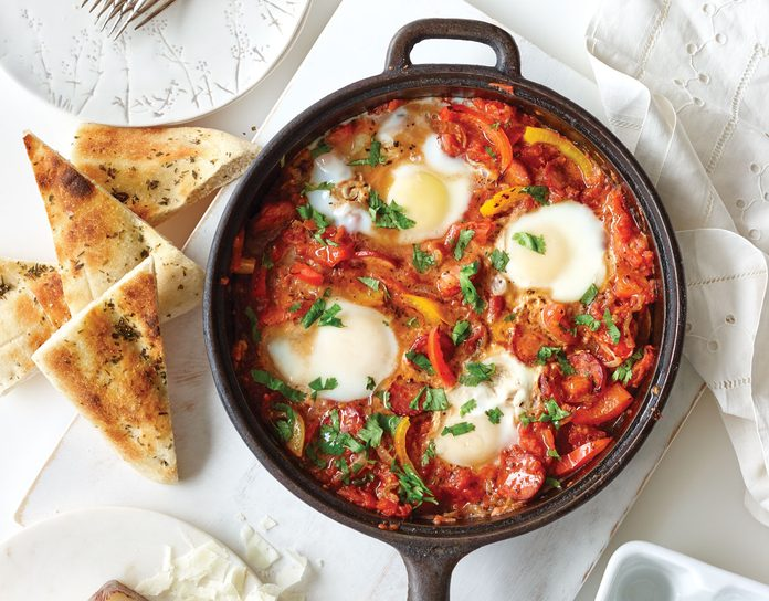 Spanish Style Eggs