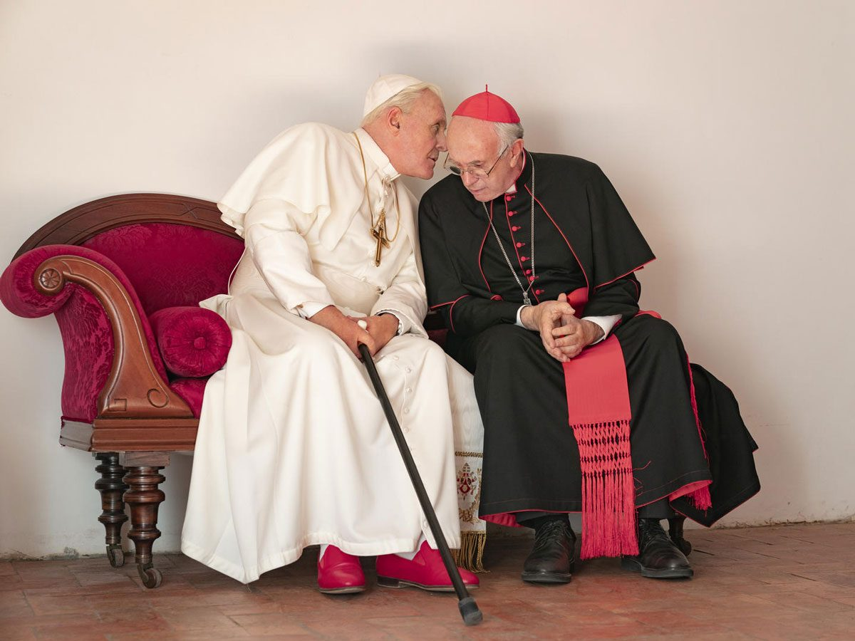 Best drama movies on Netflix Canada - The Two Popes