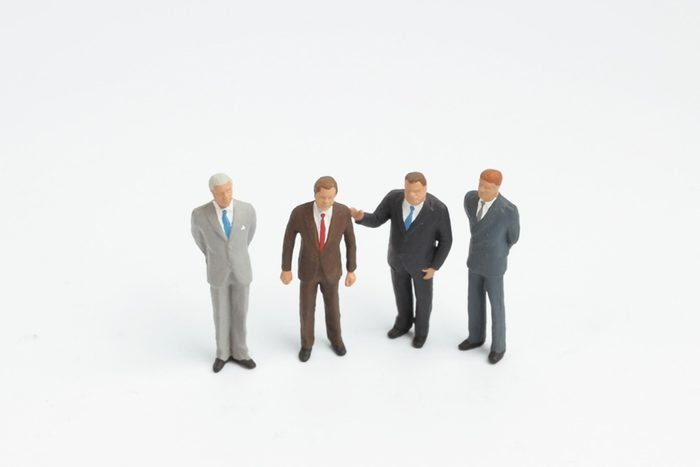 How to make more money based on your zodiac - business man miniature figure concept move to success business finance and marketing