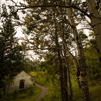 Canadian legends - Bankhead Alberta ghost town