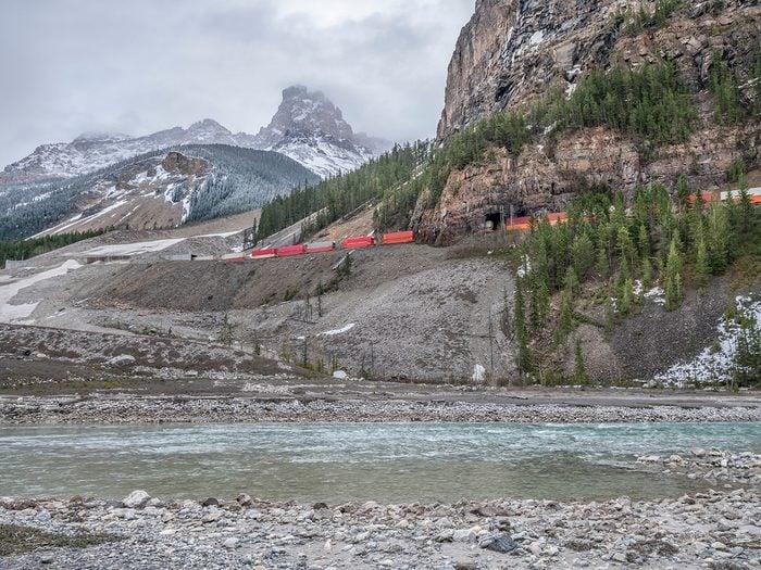 Canadian legends - Kicking Horse Pass
